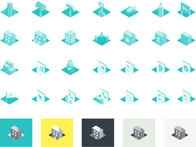 LendInvest Primary Icon Pack iconography branding illustrator vector icon ui illustration