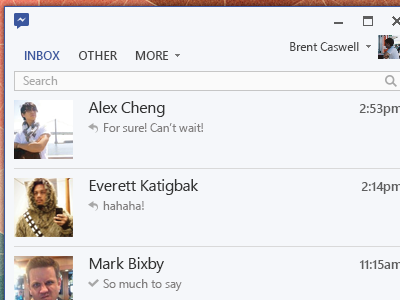 Inbox Window facebook windows 8 facebook messenger flat metro messenger windows