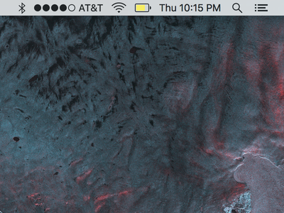 Wi-Fi + Cellular Mac menu bar os x mac cellular