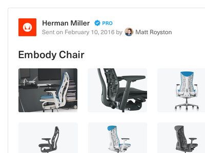 Product cards sales rep chair furniture company brand thumbnails card architizer catalog architizer source architizer