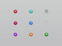 Little Buttons [Free PSD]