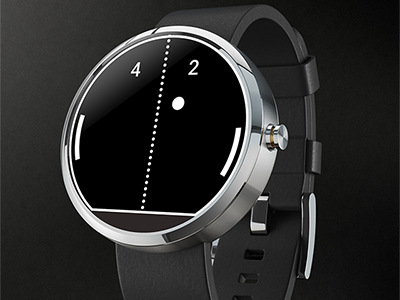 Pong Watch Face for Moto 360