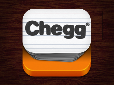 Chegg flashcards app icon