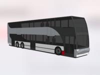 Double decker transit bus