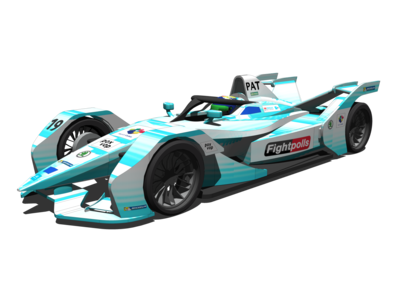 Gen2 Formula E Car