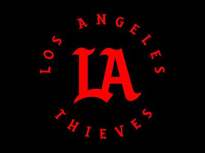 LA Thieves sports california los angeles la logo 100 thieves esports
