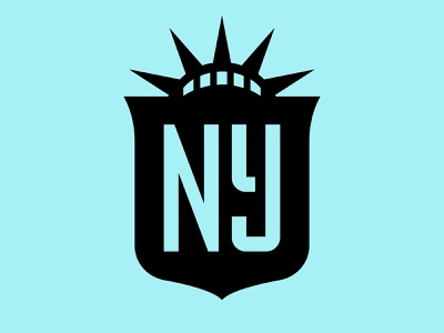 NJ/NY Gotham FC gotham logo badge womens new jersey new york nwsl crest football soccer