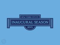 New York City FC - 2015 Inaugural Season Logo