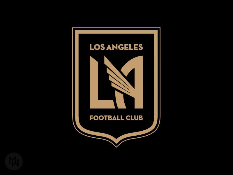 LAFC badge crest logo soccer mls la football club los angeles lafc