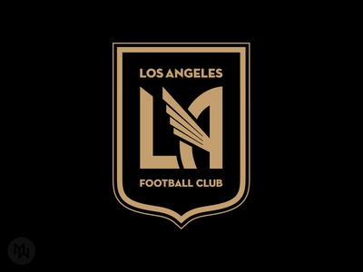 LAFC badge crest logo soccer mls la football club los angeles lafc
