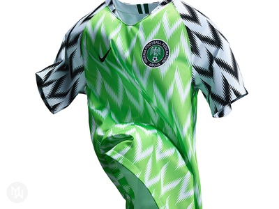 Nigeria Football Federation 2018 Home Kit