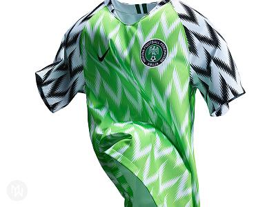 Nigeria Football Federation 2018 Home Kit kit nike uniform jersey soccer football naija