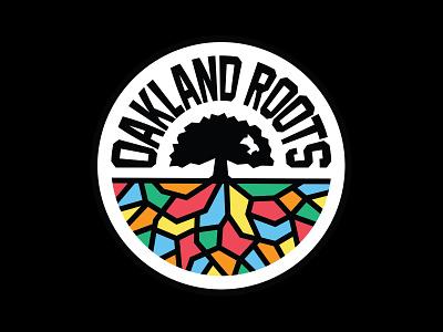 Oakland Roots SC sf bay area california roots oakland badge club football crest logo soccer