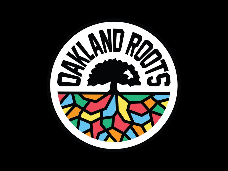 Oakland Roots SC sf bay area california roots oakland badge club football crest logo soccer