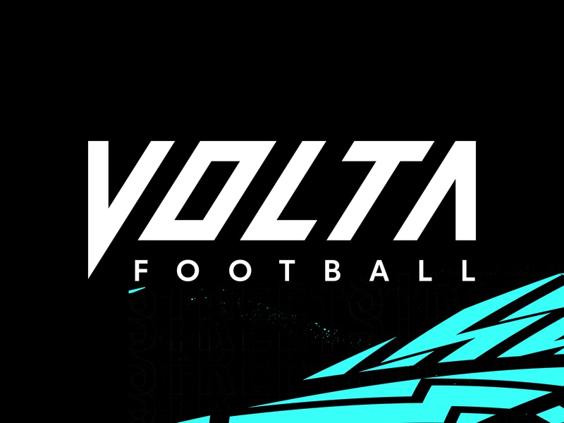 Volta Football logo small-sided street volta football soccer video game fifa ea sports
