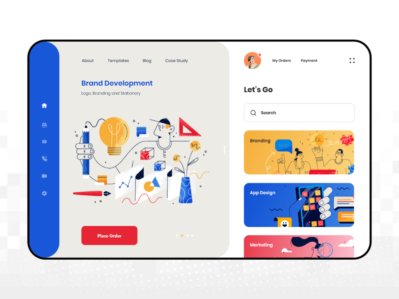 Digital Product Dashboard