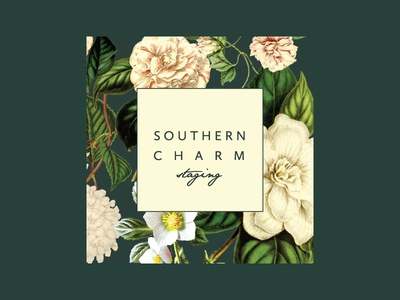 Southern Charm Staging Logo By Erika Firm