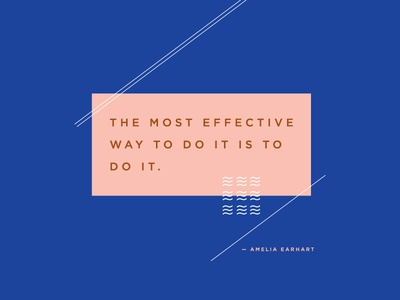 Amelia Earhart Inspirational Quote