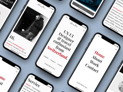 Personal Portfolio / Responsive Website