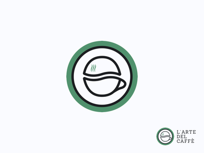 L'arte del caffè / Logo packaging shop cafe branding simple logo art of coffee coffee shop caffetteria caffe logo coffee logo