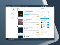 Mixcloud Website / Redesign
