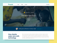 I'm A Pivot: charitywater