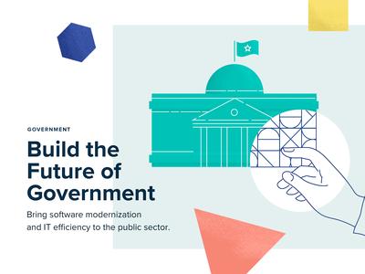 Government Illustration - Software Modernization