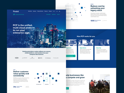 Pivotal Cloud Foundry Product Page