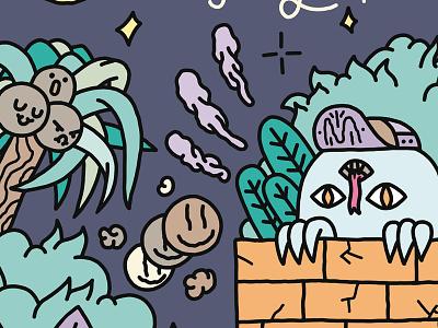 ✨ ☄️👽 Freaks Pulsion 👽☄️✨ coconut 5panel swag monster pulsion freaks freax freak fanzine zine collective graphzine