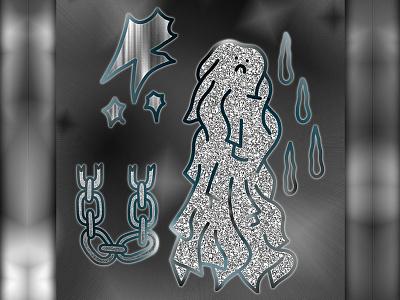 ✨⛓💦☹️👻☹️💦⛓✨ Memento Mori ✨⛓💦☹️👻☹️💦⛓✨ grey drop yolo swag digital chain gradient ghost mori memento