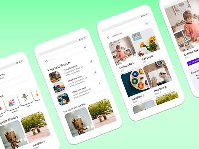 Pickatooy - ECommerce Case of Study ecommerce app mobile app minimal ux ui
