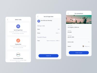 Crush It Mobile App - Create Goal