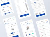 Lending Mobile App - Multiple Screens