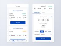 Lending Mobile App - In Bidding Screens