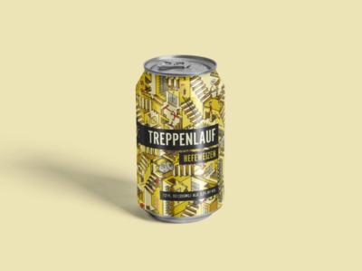 Treppenlauf Hefeweizen Beer Can