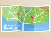 Spring Roadmap graphic for Marin Software