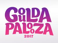 Logo for Gouldapalooza Music Festival