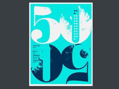 5050fest Poster Dribble