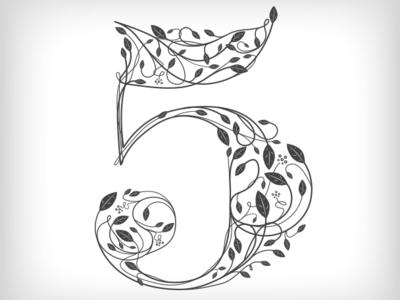"""""""5"""" editorial illustration"""