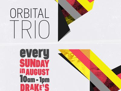 Poster for Orbital Trio - Drake's Dealership