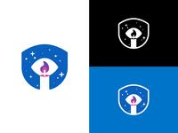The magic eye - logo concept