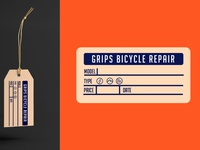 Grips Bicycle Shop Tag