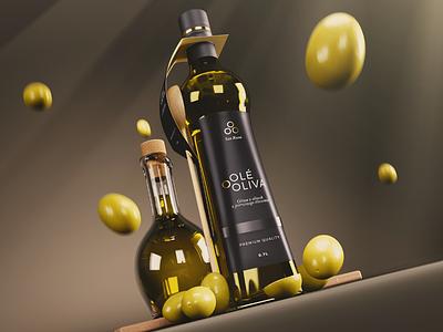 Olé Oliva Branding branding packaging product design cycles blender cgi 3d