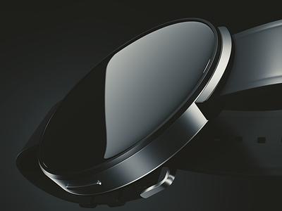 Smartwatch Concept #2 3d cgi smartwatch industrial design product design