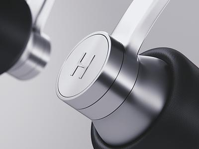 earphones #cgi concept minimal clean product blender render cgi 3d