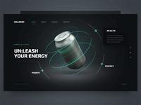 unleash your energy / webgl