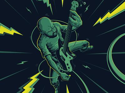 Skateboard Illustration - Gavin Pincus design illustration vector