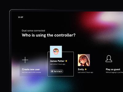 PS5 UI explorations tv app ps5 tv ux ui