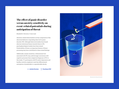 Deep dive editorial illustration vector poster grainy illustration