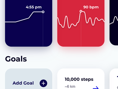 Fitness app concept minimal clean sports diet lifestyle health mobile fitness ux ui